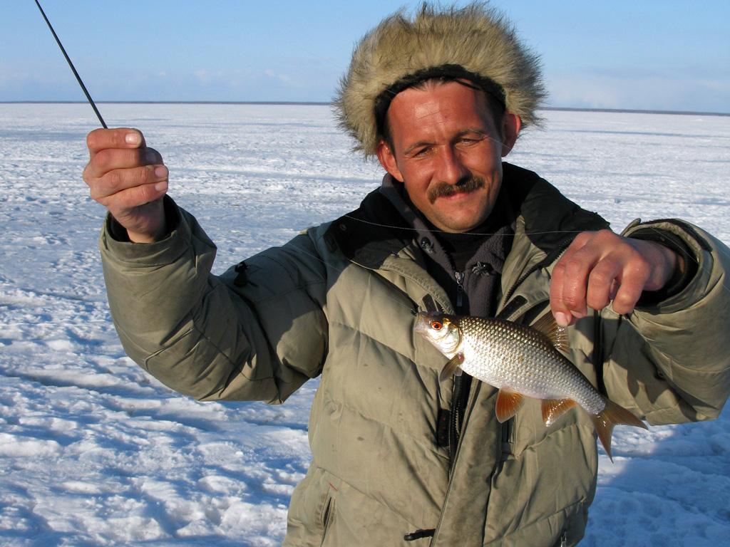 рыбалка на паше зимой